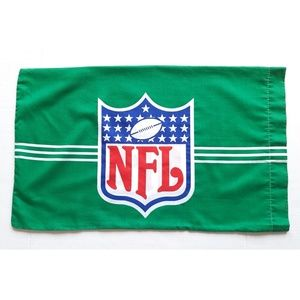 NFL Football 1989 Vintage Green Pillow Case